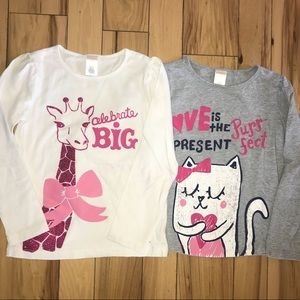Other - Gymboree long sleeve tee duo